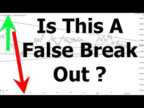 Is This A False Break Out  | Silver And Gold Holding Strong