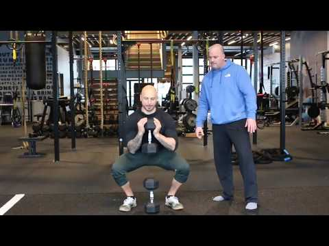 A Great Squat Coaching Tip with a Goblet Squat Variation