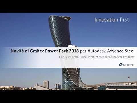 Graitec PowerPack per Autodesk Advance Steel 2018
