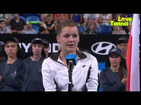 Radwanska & Panfil vs Cornet & Tsonga FINAL Highlights Hopman Cup 2014 HD