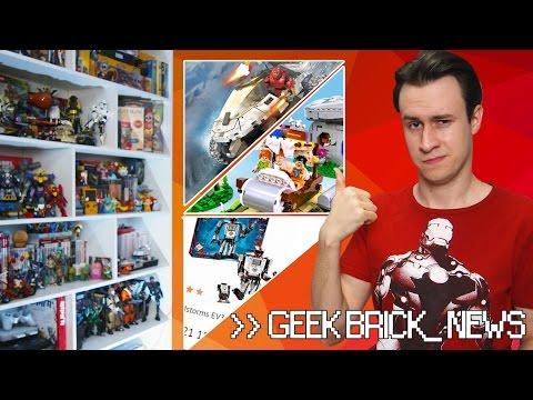 [Geek-Brick Новости] Где дешево купить LEGO, Mega Blocks HALO, LEGO Флинстоуны
