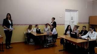 Открытый урок по родному русскому языку в 9 классе. Русский язык и Интернет