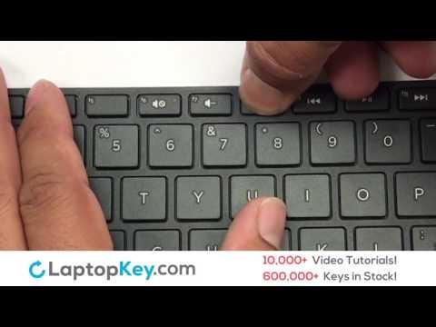 Replace Keyboard Key HP Pavilion 15-E 17-E   Fix Laptop Installation Repair