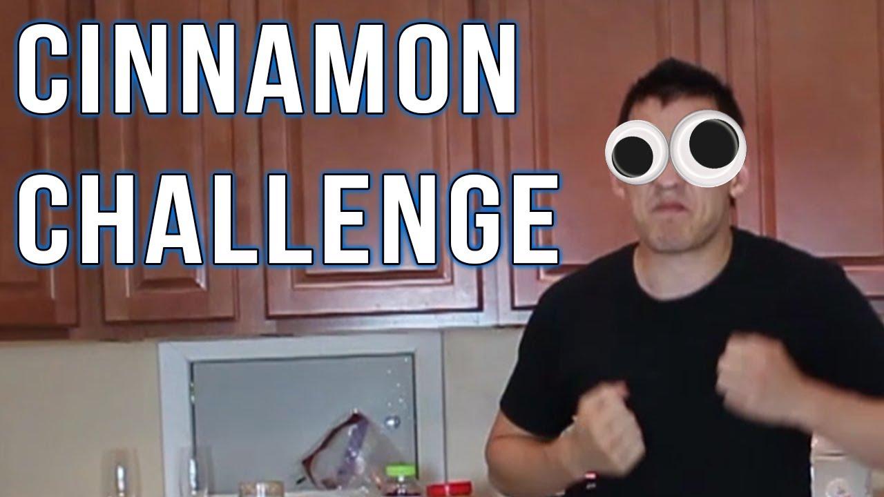Cinnamon Challenge (OLD) - YouTube