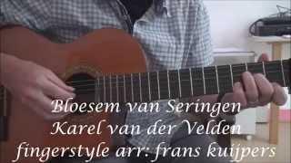 Bloesem van Seringen-Karel van der Velden-fingerstyle arr: frans kuijpers