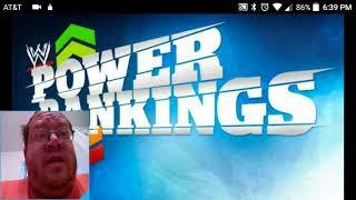 WWE Power Rankings - Why No Nicholas - DTMP Wrestling Talk
