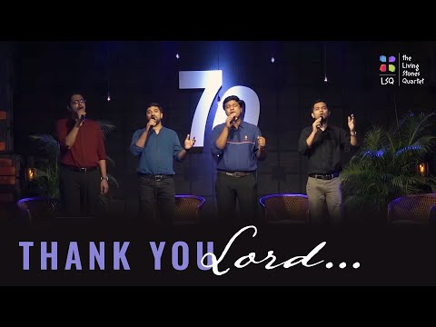 Thank You Lord | Don Moen Cover | The Living Stones Quartet |  #thelsq