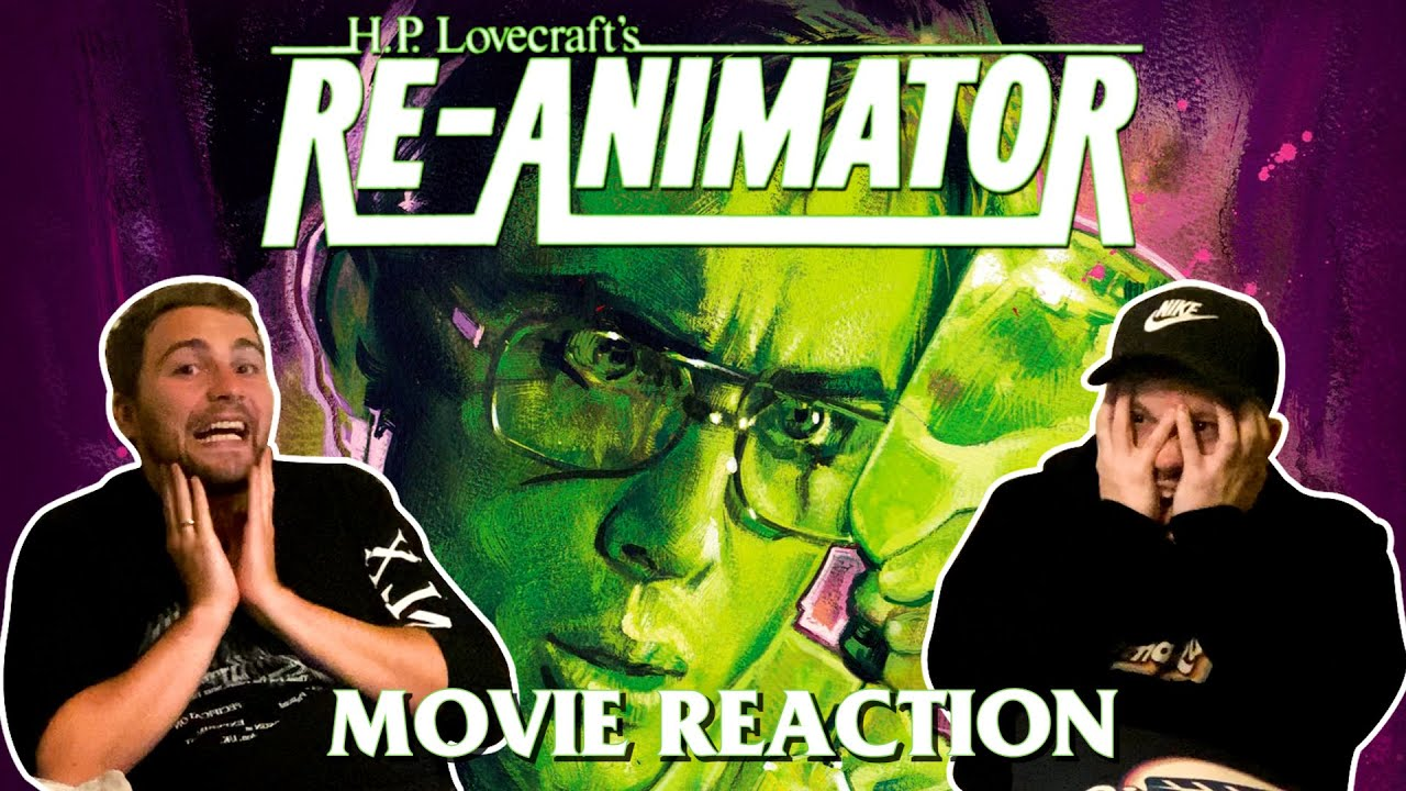 Download Re-animator (1985) MOVIE REACTION! FIRST TIME WATCHING!!