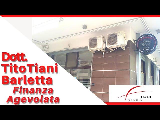 COMMERCIALISTA BARLETTA TITO TIANI - FINANZA AGEVOLATA STUDIO TIANI - PIZZERIA D'ARAGONA