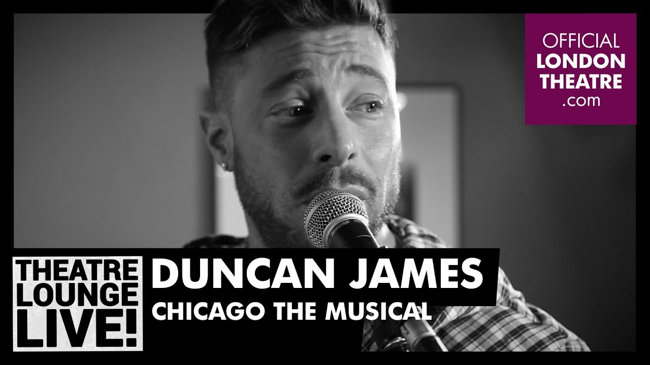 Duncan James performs All I Care About (Is Love) from Chicago The Musical