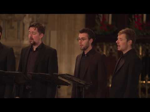 Es Ist ein Ros' entsprungen (Praetorius) The Gesualdo Six at Ely Cathedral