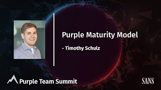 Purple Maturity Model