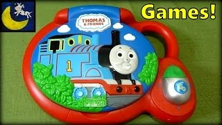Vtech Thomas and Friends Learn and Explore Laptop! 30 Fun Games!