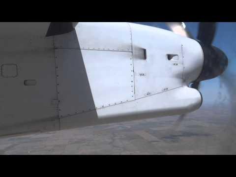De Havilland DHC-8-400 (Q400) Takeoff/Landing  DEN - MCI