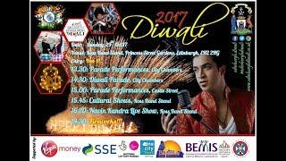 Diwali at Edinburgh; Navin KUNDRA !!