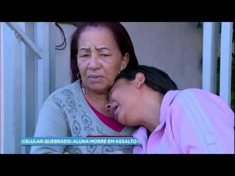 Mãe de estudante morta em assalto fala com exclusividade à RecordTV