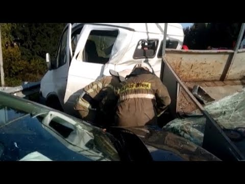В ДТП с участием 2-х автобусов погиб человек