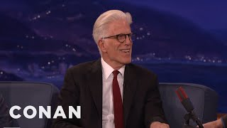 Ted Danson Got Into Acting Because Of A Girl  - CONAN on TBS