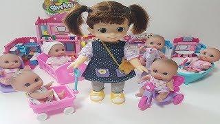콩순이 아기인형들과 놀아주기[츄츄토이]ChuChu Toys