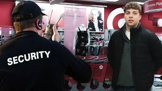 I GOT KICKED OUT OF TARGET! (Clickbait)