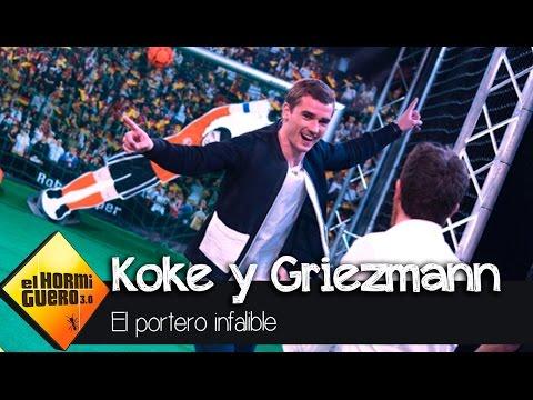Koke y Griezmann VS el portero infalible -...