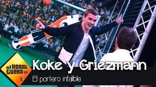 Koke y Griezmann VS el portero infalible - El Hormiguero 3.0