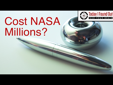 Did NASA Spend Millions Developing a Pen When the Russians Used Pencils?
