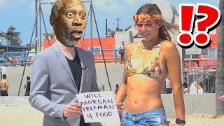 Morgan Freeman Voice Prank