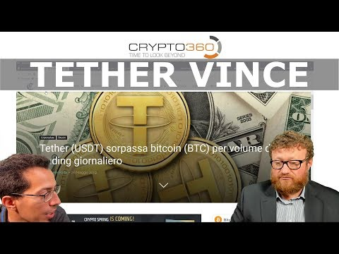 Tether batte Bitcoin, Ripple e iota (Tg 2019 05 29)