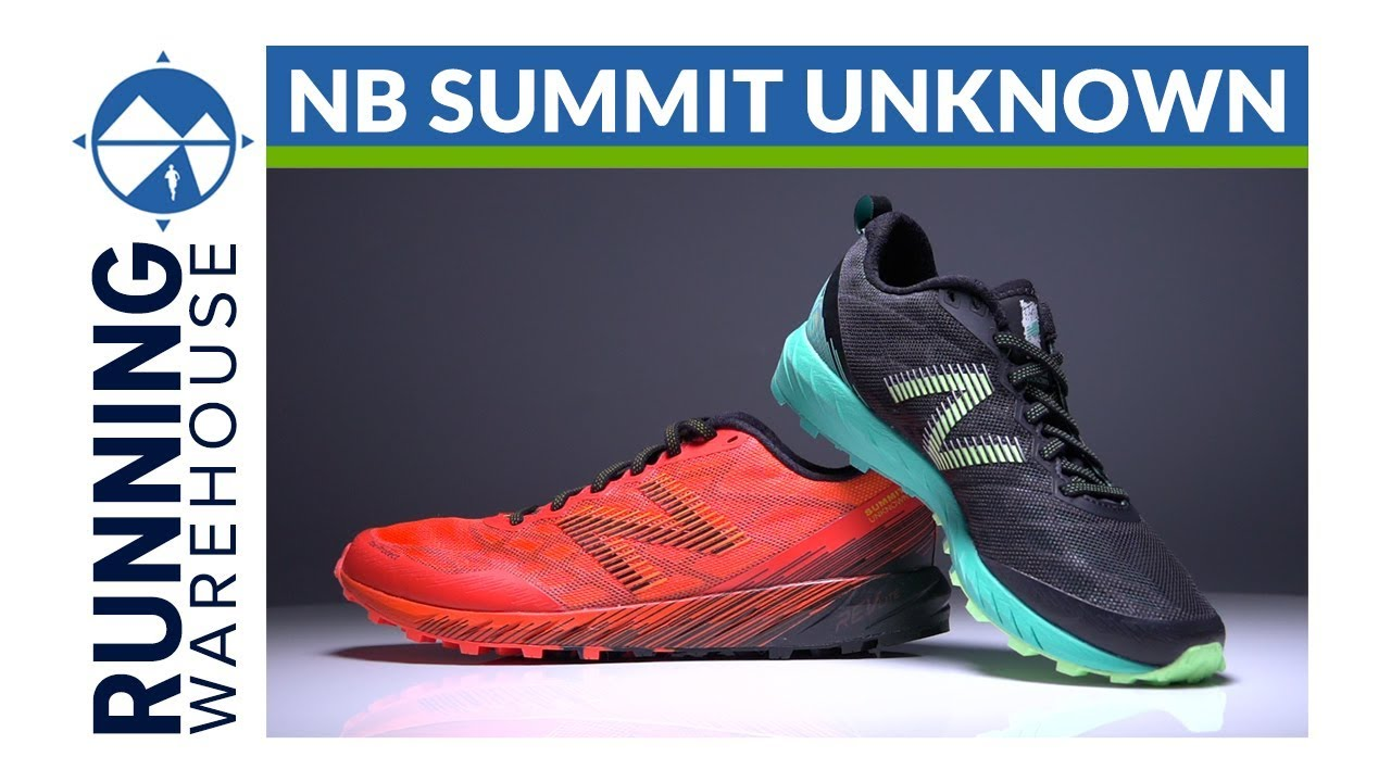 test chaussure new balance summit unknown