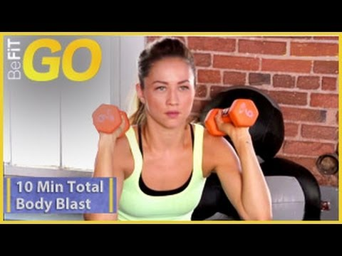 BeFiT GO  10 Minute Total Body Blast Workout