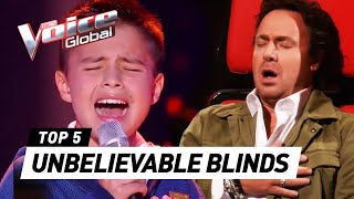 UNBELIEVABLE Blind Auditions in The Voice Kids that SURPRISE...