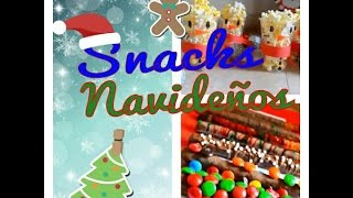 Snacks / Botanas navideñas ♡ Nuni Thumbnail