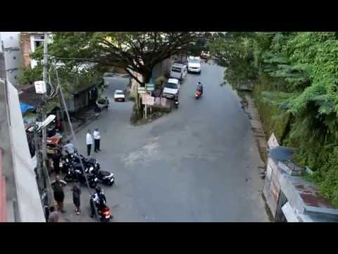 How do they drive motors in Aizawl city (Mizoram)