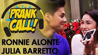 ronnie alonte at julia barretto di nagpahuli sa prank call ng mor 101 9