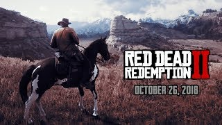 Red Dead Redemption 2: ALL Official Trailers | Upcoming Games of 2018 (PS4 & Xbox One)