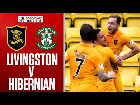 Livingston 2-1 Hibernian | Livingston Come Back from 1-0 Down | Ladbrokes Premiership