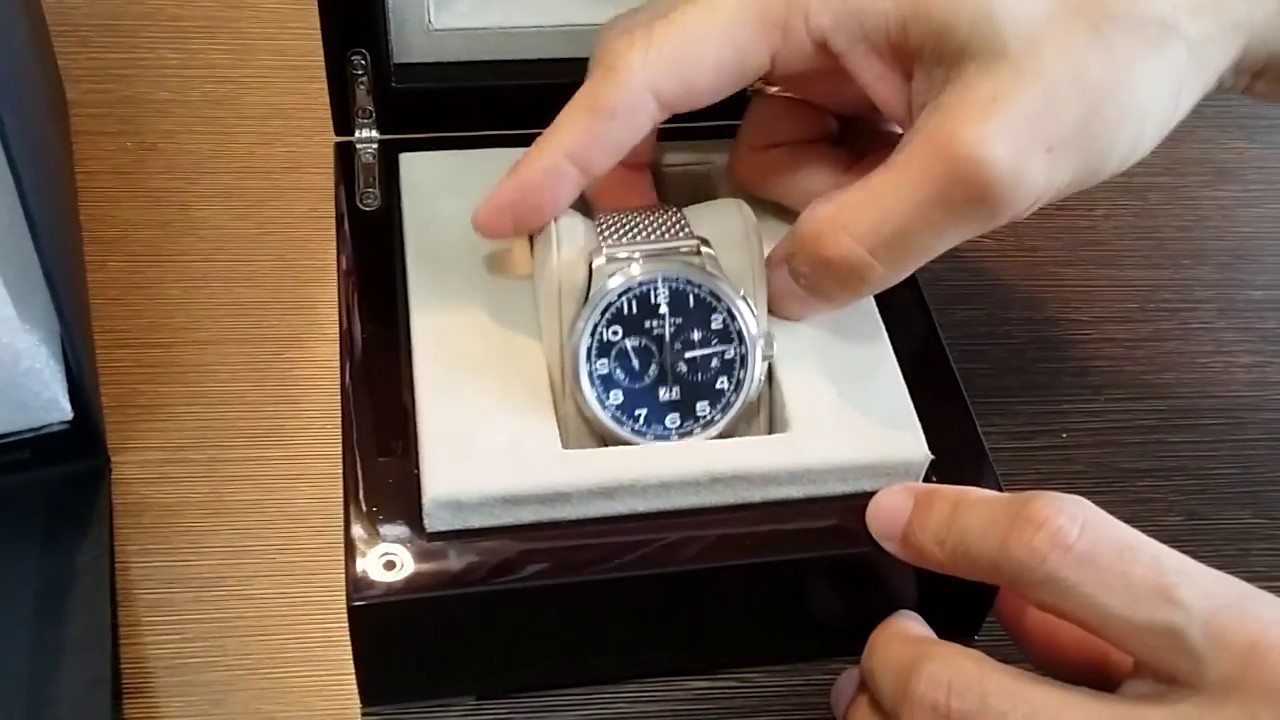 9333f00e134 Zenith El Primero Chronograph Review and Unboxing - YouTube
