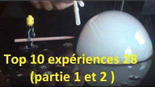 Top 10 experiences 28 (partie 1 & 2)
