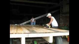 Building A Hay Wagon