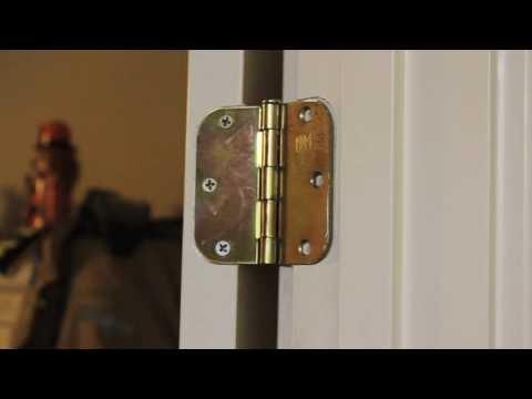 Squeak Free Door Hinge Install Youtube