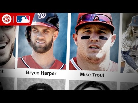 Mike Trout & Bryce Harper HIGH SCHOOL Highlights