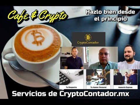 Hazlo bien desde el inicio con CryptoContador.mx: Cafe y Crypto