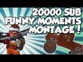 Funny Moments Montage - 20000 Subscriber Special! - Scrap Mechanic Funny Moments and More!