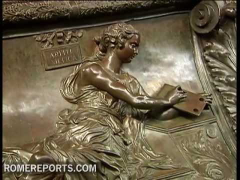 The Churchs most spectacular papal tomb restored