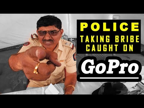 Police taking Bribe   Part 2 Hyderabad to Mumbai   All India Ride   Fuzz Rides   Benelli 600i