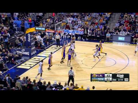 12\22\15: Lakers vs. Nuggets Highlights