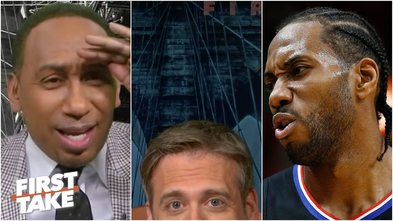 Max hides after his Kawhi-LeBron take & Stephen A. flips out   First Take