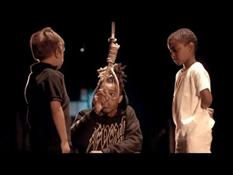 Bible 'offensive,' but thug lynching child in music video is okay? HD