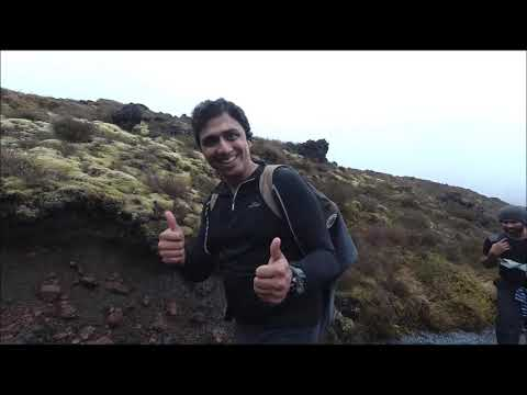 Tongariro Alpine Crossing 19.4 KMs Trekking